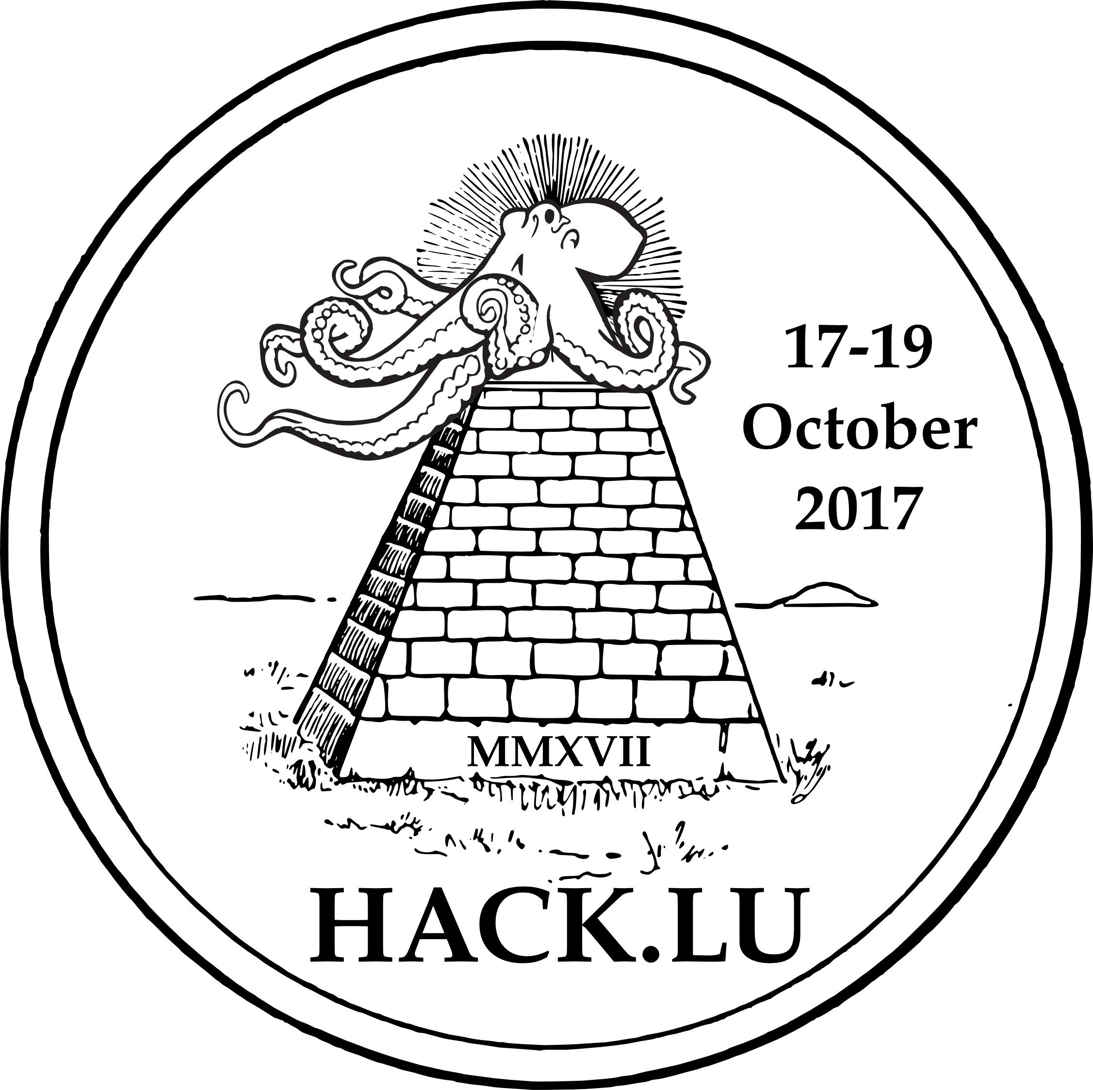 Hack.lu 2017 logo